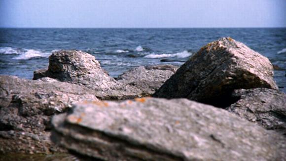 Itämeren rantakallioita.