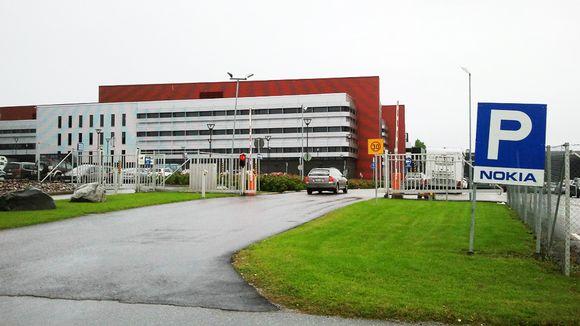 Nokian tehdas Salossa.