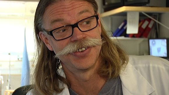 PET-keskuksen apulaisylifyysikko Mika Teräs.