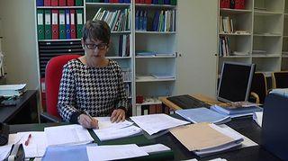 Turun yliopiston kielikeskuksen lehtori Pirkko Hölttä.