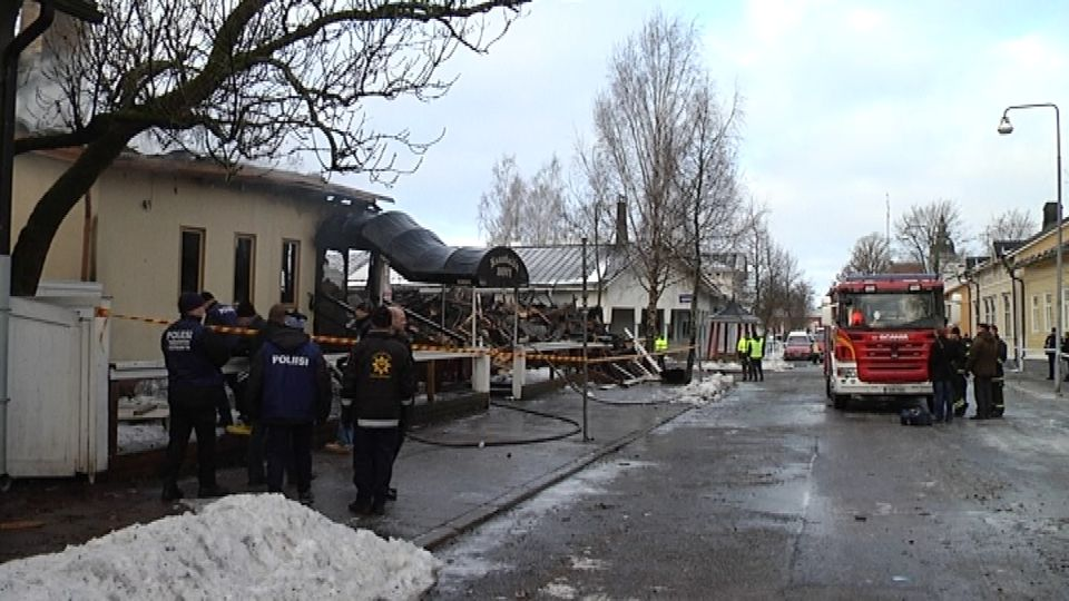 Tulipalo Järvenpää