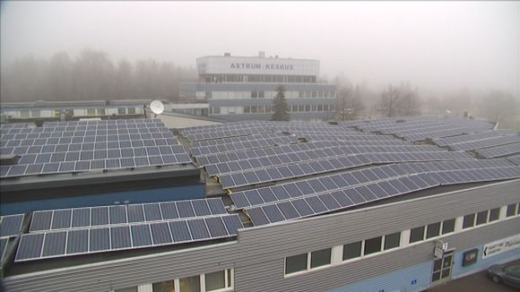 The solar energy tax regime has cooled business ardour for producing solar energy. Image: Jussi Kallioinen / Yle