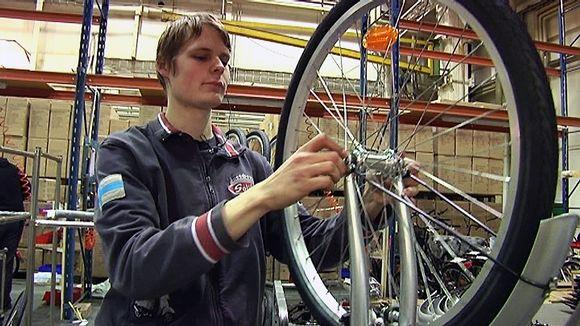 Salossa valmistuu tänä vuonna 13 000 polkupyörää.