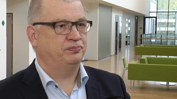 Salon kaupunginjohtaja Antti Rantakokko.