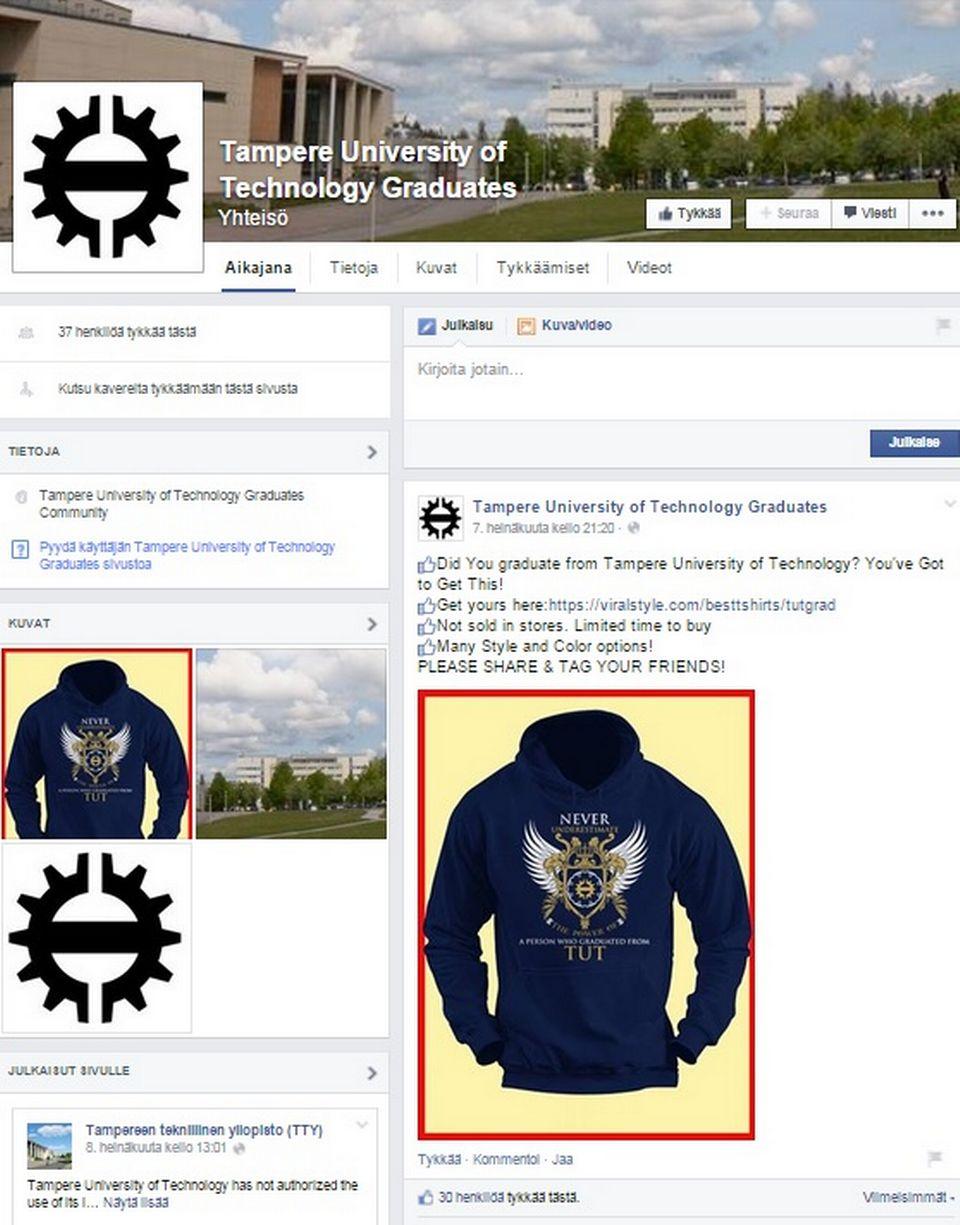 yrityksen facebook Turku