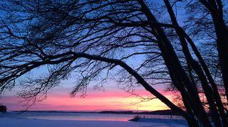 Talven kauneutta parhaimmillaan
