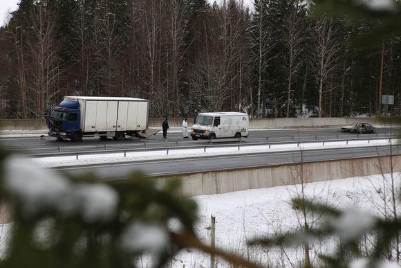 Arvokuljetuksessa käytetty kuljetusauto.