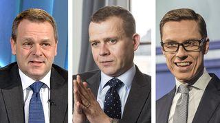 Jan Vapaavuori, Petteri Orpo, Alexander Stubb