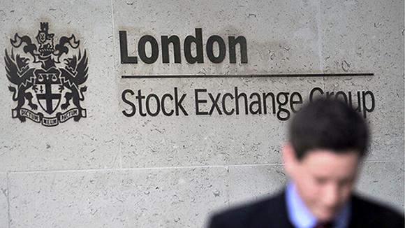 Lontoon pörssi.