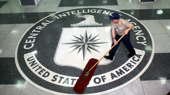Yhdysvaltain keskustiedustelupalvelu CIA:n pääkonttorin eteishalli