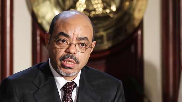 Meles Zenawi.