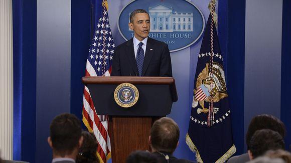 Video: Presidentti Barack Obama puhui lehdistölle Valkoisessa talossa Bostonin räjähdysten jälkeen.