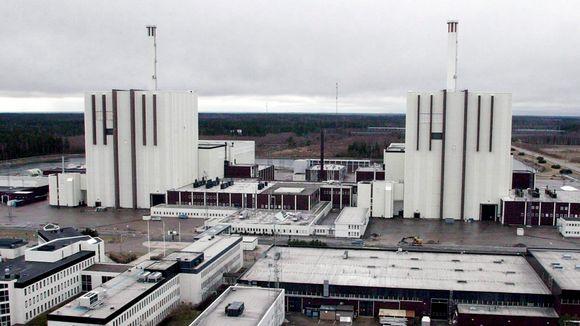 Ydinvoimala Ruotsin Forsmarkissa.
