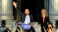 Tsipras tuulettaa.