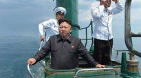 Kim jong-un. Pohjois-Korealaisen uutistoimiston välittämää kuvaa viime kuulta.
