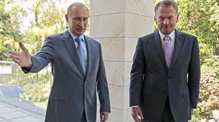 Niinistö Putin seisovat
