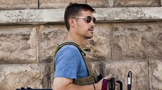 Päiväämätön arkistokuva yhdysvaltalaistoimittaja James Foleysta.