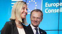 Video: Federica Mogherini ja Donald Tusk