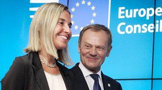 Federica Mogherini ja Donald Tusk