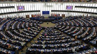 Euroopan parlamentti oli videoyhteydessä Ukrainan presidentti Petro Porošenkoon Strasbourgissa, Ranskassa tiistaina.