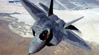 F-22 Raptor -rynnäkköhävittäjä