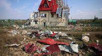 Pahoin tuhoutunut talo