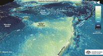 Australialaisviranomaisten julkaisema mallinnus Intian valtameren pohjasta.