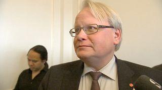 Video: Ruotsin puolustusministeri Peter Hultqvist.