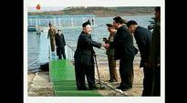 Video: Pohjois-Korean television julkaisemissa päiväämättömissä kuvissa Kim Jong-un vierailee vastarakennetussa tiedemiehille rakennetussa lomakeskuksessa.
