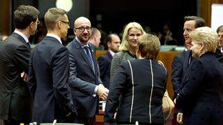 EU-maiden pääministereitä.