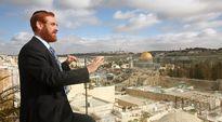 Rabbi Yehuda Glick Jerusalemissa, Israelissa tammikuussa 2010.