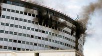 Maison de la Radio paloi Pariisissa 31. lokakuuta.