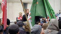 Video: Mielenosoittajia Puolassa.
