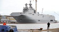 Mistral-alus kuvattuna Ranskan Saint-Nazairessa