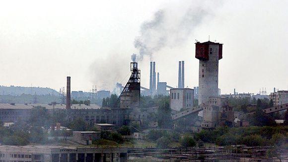 Hiilikaivos Makeevkassa.