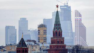 Näkymä Moskovasta.