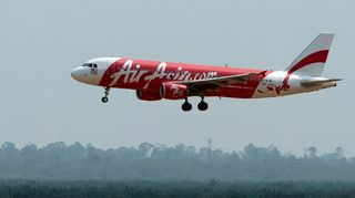 Air Asian Airbus-lentokone.