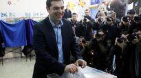 Video: Alexis Tsipras äänestämässä.