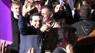 Video: Alexis Tsipras.