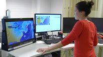 Video: Ylen meteorologi Kerttu Kotakorpi työssään.