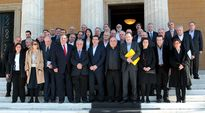 Kreikan uusi hallitus.