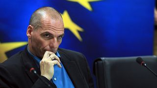 Kreikan valtiovarainministeri Giánis Varoufákis