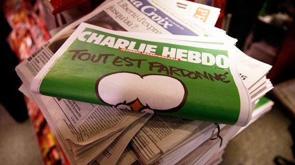 Charlie Hebdo lehti.