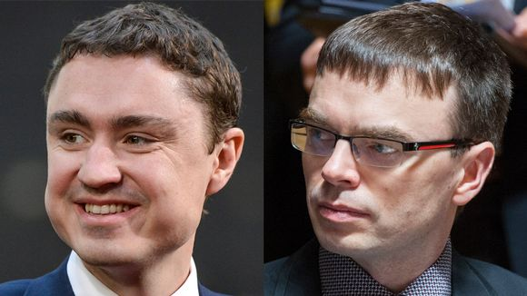 Taavi Rõivas (vas.) ja Sven Mikser.