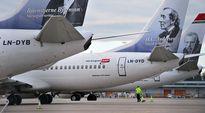 Norwegianin lentokoneita Arlandan kentällä 5. maaliskuuta.