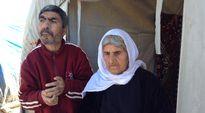 Iäkäs jesidinainen vapautui äskettäin ääri-islamilaisen Isis-liikkeen käsistä. Hänen kehitysvammainen poikansa oli myös vankeudessa.