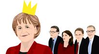 Angela Merkel ja Suomen pääministerit