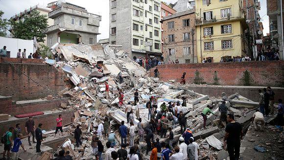 Video: Nepalin maanjäristys.