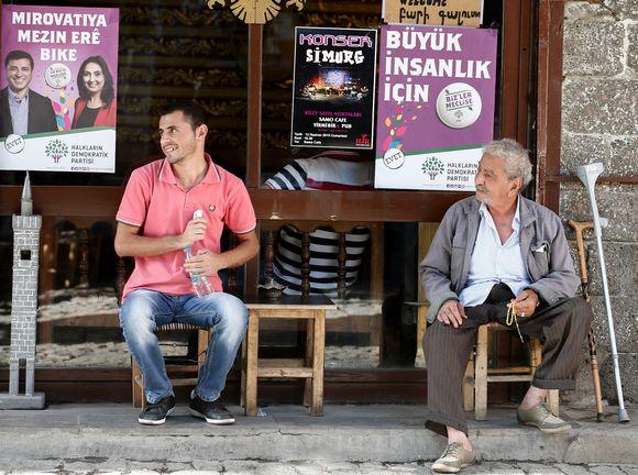 Turkki vaalikampanja 4.6.2015