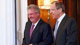 Jean Asselborn ja Sergei Lavrov.